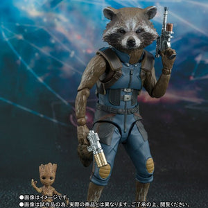 SHF SHFiguarts Guardians of the Galaxy Rocket Action Figures LIMITED EDITION
