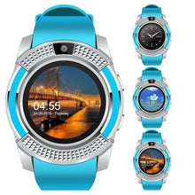 Load image into Gallery viewer, Smart Watch V8 Men Bluetooth Sport Watch with Camera Sim Card Slot