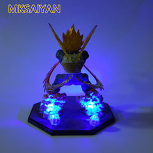 Load image into Gallery viewer, Dragon Ball Z Vegeta Super Saiyan Led Anime Kamehameha Light  Action Figure Collectible Model Toys