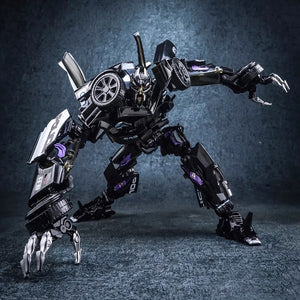 BMB  Black Mamba 4th Party The Last Knight MPM-05 MPM05 Barricade Transformation Action Figure