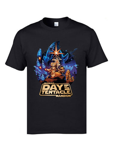 Marval Comic Day of the Tentacle Star Wars Mashup Magic T shirts for Men