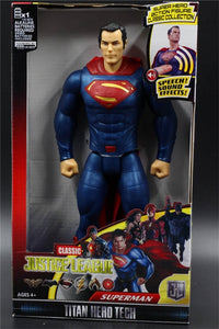 Classic Justice League Titan Hero Tech Superman Action Figure