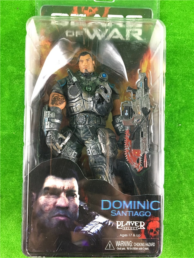 Gears of war DOMINIC NECA originals Action Figure