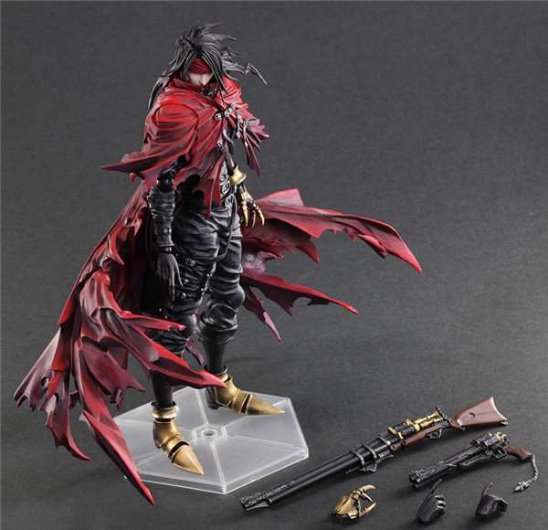 Play Arts Kai Vincent Valentine Final Fantasy VII FF7 Cloud  Action Figure