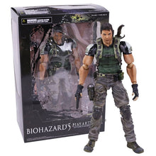 Load image into Gallery viewer, PLAY ARTS KAI Biohazard 5 Resident Evil 5 Chris Redfield Action Figure