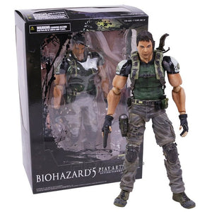 PLAY ARTS KAI Biohazard 5 Resident Evil 5 Chris Redfield Action Figure