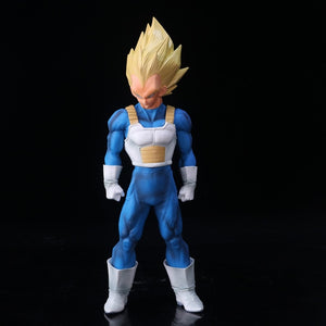 Dragon Ball Z Vegeta Cartoon Color Version Black White Action Figures