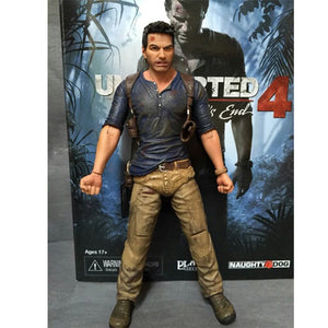 NECA Uncharted 4 A Thief's End Nathan Drake Action Figure