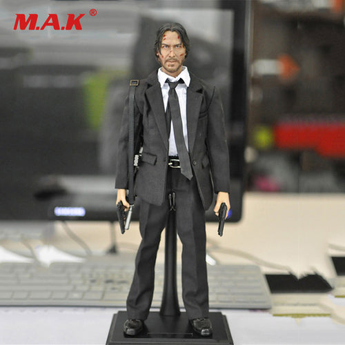 John Wick Retired Killer Keanu Reeves Action Figure