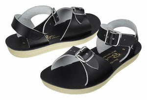 Salt Water Black Surfer Sandal