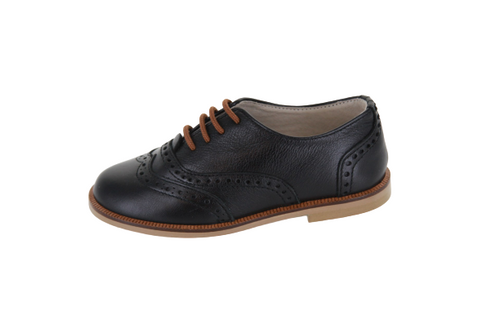 Hoo Black Lace Oxford  2184