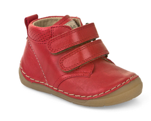 Froddo Red Velcro High-top Sneaker 2130132