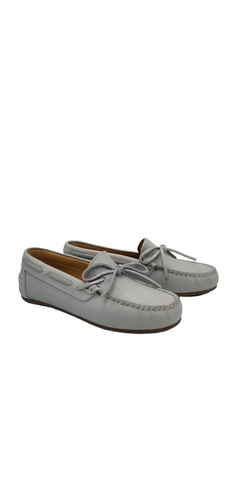 LMDI Light Grey Bow Loafer