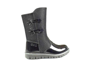 Primigi Waterproof Black Patent Leather Boots 02385533