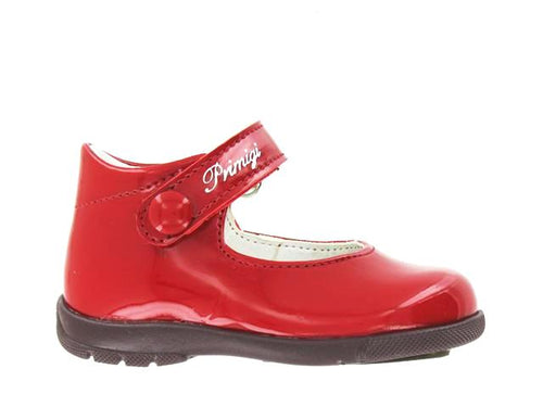 Primigi Red Patent Leather Mary Jane First Walker 02402011