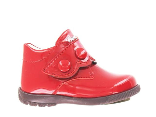 Primigi Red Patent Leather Velcro First Walker 02402311