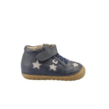 Oldsoles Navy Star High Top Sneaker 4021