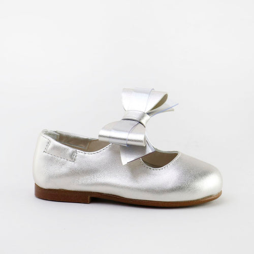 Papanatas Pearl Leather Bow Ballet 44003AA