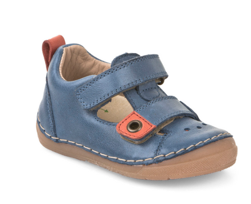Froddo Blue Eclectic Sandal. **Final Sale