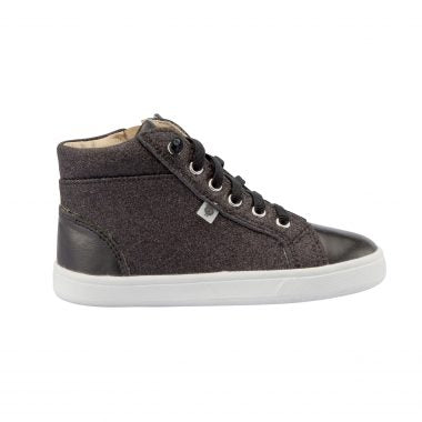 Oldsoles Black Glam High Top Sneaker 6029