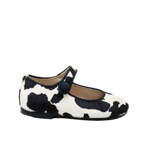 Papanatas Cow Print Mary Jane 6315Z