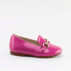 Papanatas Neon Pink Chain Loafer 6474AA