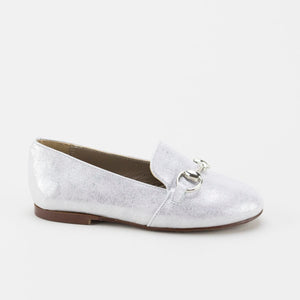 Papanatas Silver Chain Loafer 6474Y