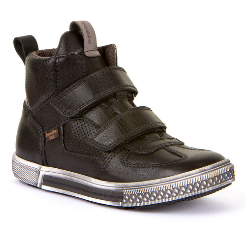 Froddo Black High-Top Waterproof Velcro Sneaker G3110129