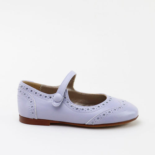 Papanatas Lilac Wingtip Mary Jane 6793AA
