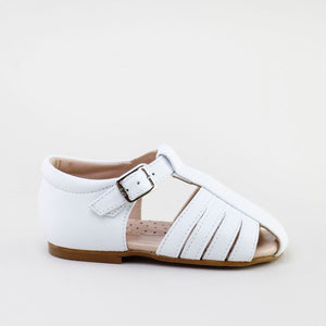 Papanatas White Closed Toe Sandal 67