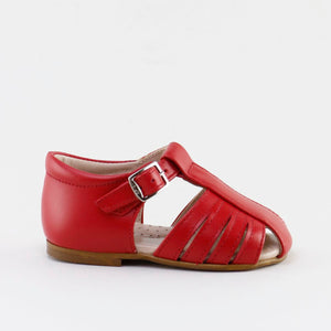 Papanatas Red Closed Toe Sandal 67