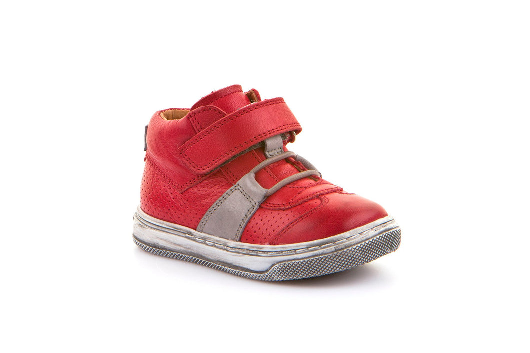 Froddo Red Velcro First Walker Sneaker G2130169