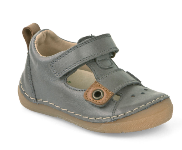 Froddo Grey Velcro Sandal First Walker 2150074 ***Final Sale