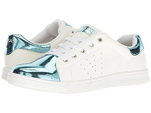 Fresas by Conguitos Blue White Laced Sneaker 52108