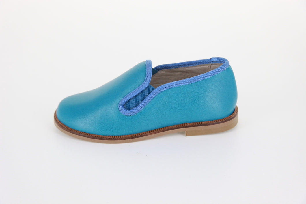 Hoo Turquoise Smoking Loafer CV2176