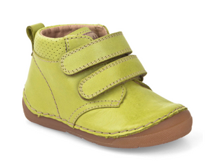 Froddo Lime Green Velcro High-top First Walker Toddler