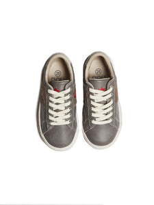 Dou uod Grey No Tie Laced Sneakers