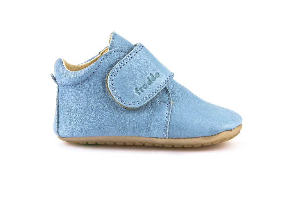 Froddo Light Blue Pre Walkers (Soft Sole)  G11300053