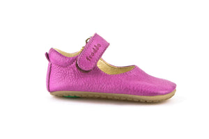 Froddo Fuchsia Velcro First Walker Shoe G1140001