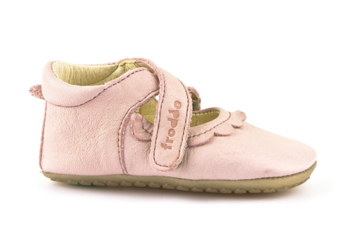 Froddo Pink Velcro Mary Jane First Walker G114002
