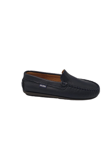 Atlanta Mocassin Navy Slip On Loafer 17818