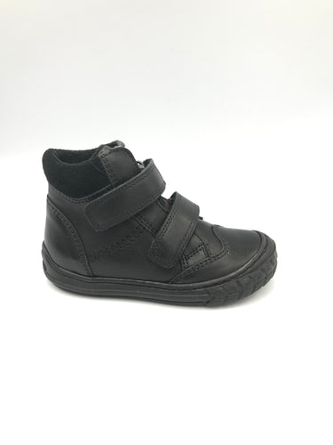 Froddo Black Velcro High Top Sneaker G3110101
