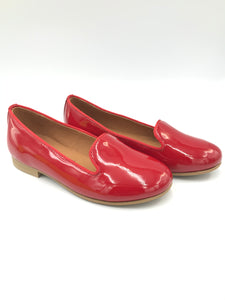Atlanta Mocassin Patent Leather Red Slip On wv00