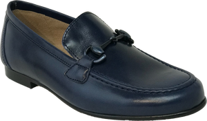 Hoo Navy Chain Loafer 2173