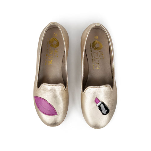 LMDI Metallic Gold Lip Slip on 137154A