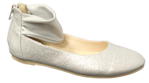 Amiana (A-Line) Silver Dress Shoe