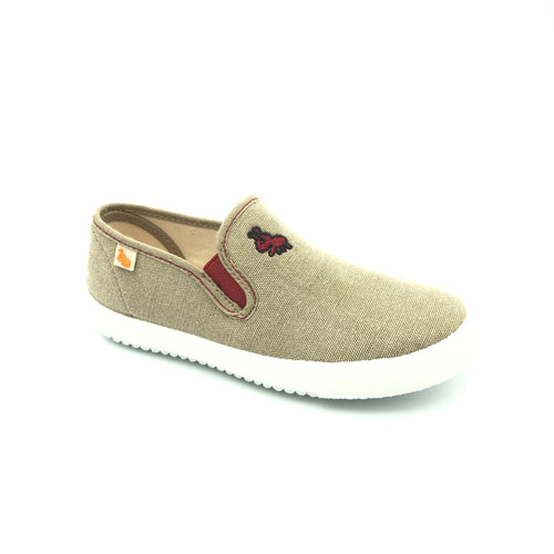Vulladi Camel Slip-on Sneakers