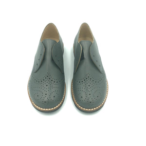 TNY Grey Slip On Dress Shoe 14270