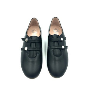 LMDI Black Double Strap Oxford 314