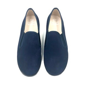 Hoo Navy Suede Smoking Loafer 3061